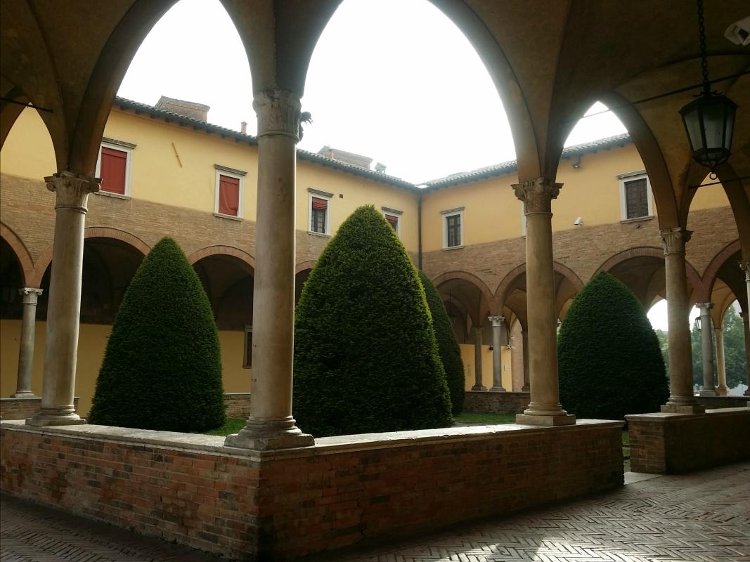 Chiostro Basilica di San Mercuriale Forlì - Chiari86 - Forlì (FC)
