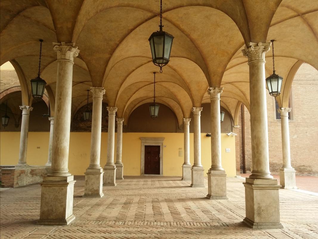 Chiostro della Basilica di San Mercuriale - Chiari86 - Forlì (FC)