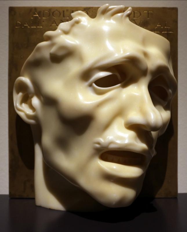 Adolfo wildt, maschera del dolore (autoritratto), 1909 (forlì, palazzo romagnoli) - Sailko - Forlì (FC)