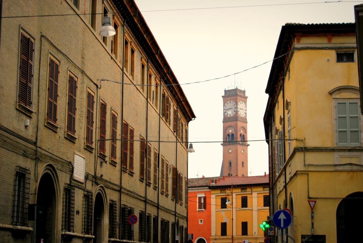 La Torre Civica vista da Corso Garibaldi - Chiari86 - Forlì (FC)