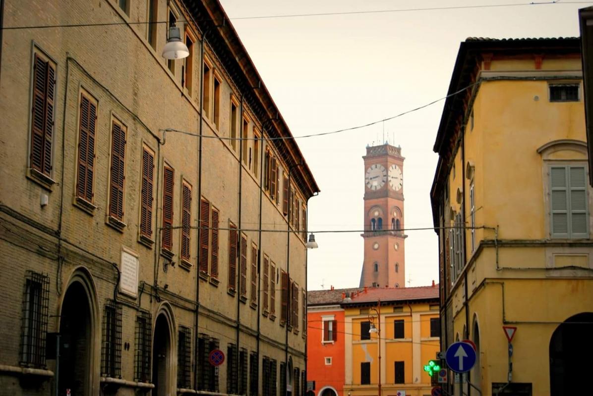 Torre Civica anche conosciuta come Torre dell'Orologio o Torre Comunale - Chiari86 - Forlì (FC)