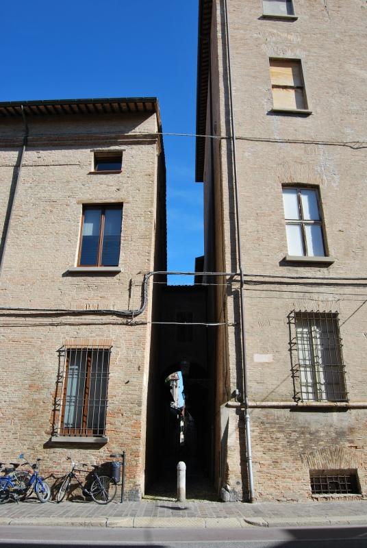 Vicolo Gaddi visto da Corso Garibaldi - Chiari86 - Forlì (FC)