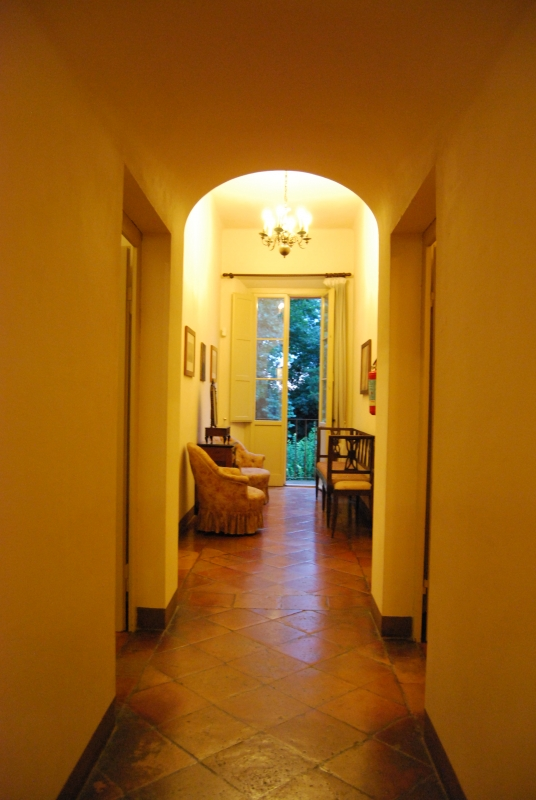 Corridoi all'interno di Villa Saffi - Chiari86 - Forlì (FC)