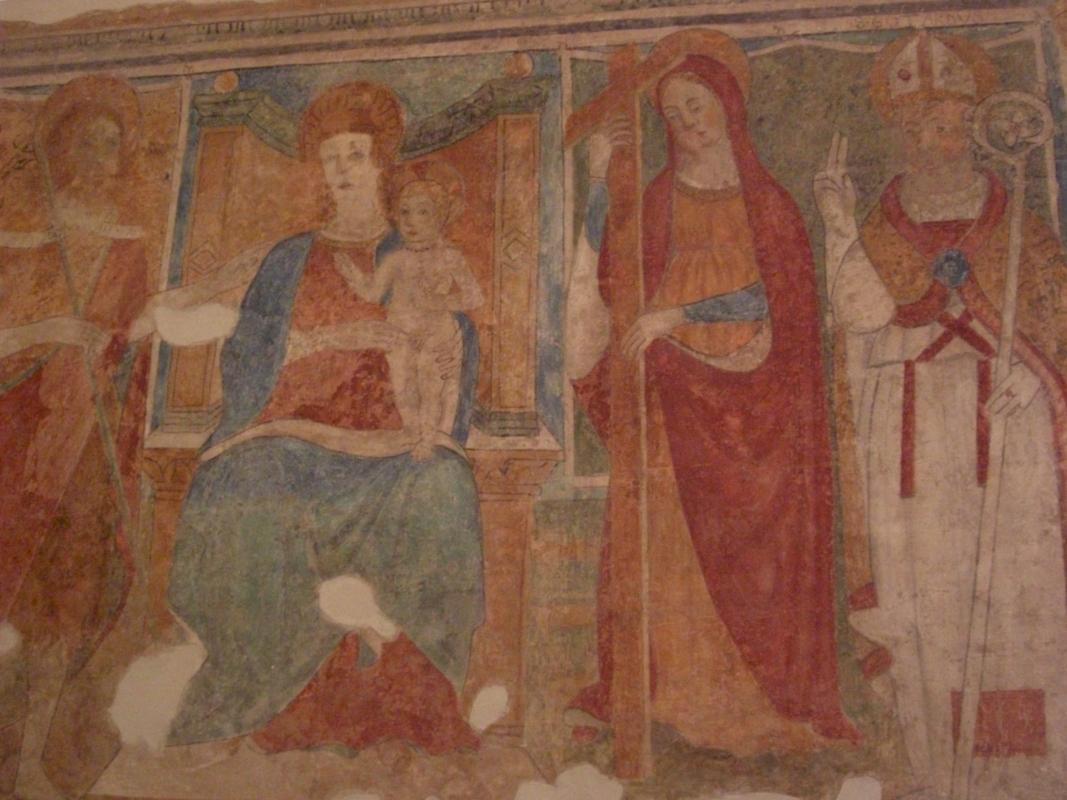 Oratorio di San Rocco affreschi1 - Clawsb - Gatteo (FC)