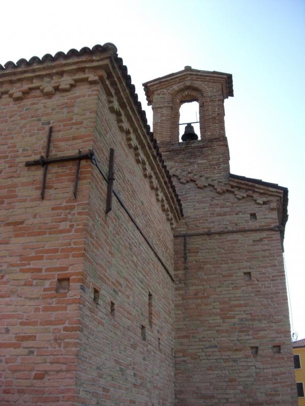 Oratorio di San Rocco,vista posteriore - Clawsb - Gatteo (FC)