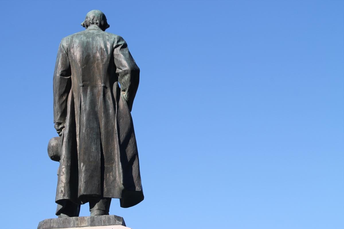 Monumento a Don Giovanni Verità, retro - Patrizia Diamante - Modigliana (FC)