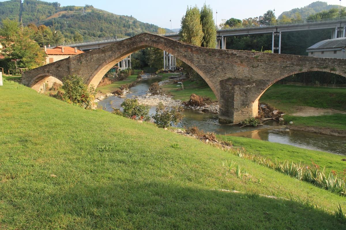 Ponte di San Donato al tramonto - Patrizia Diamante - Modigliana (FC)