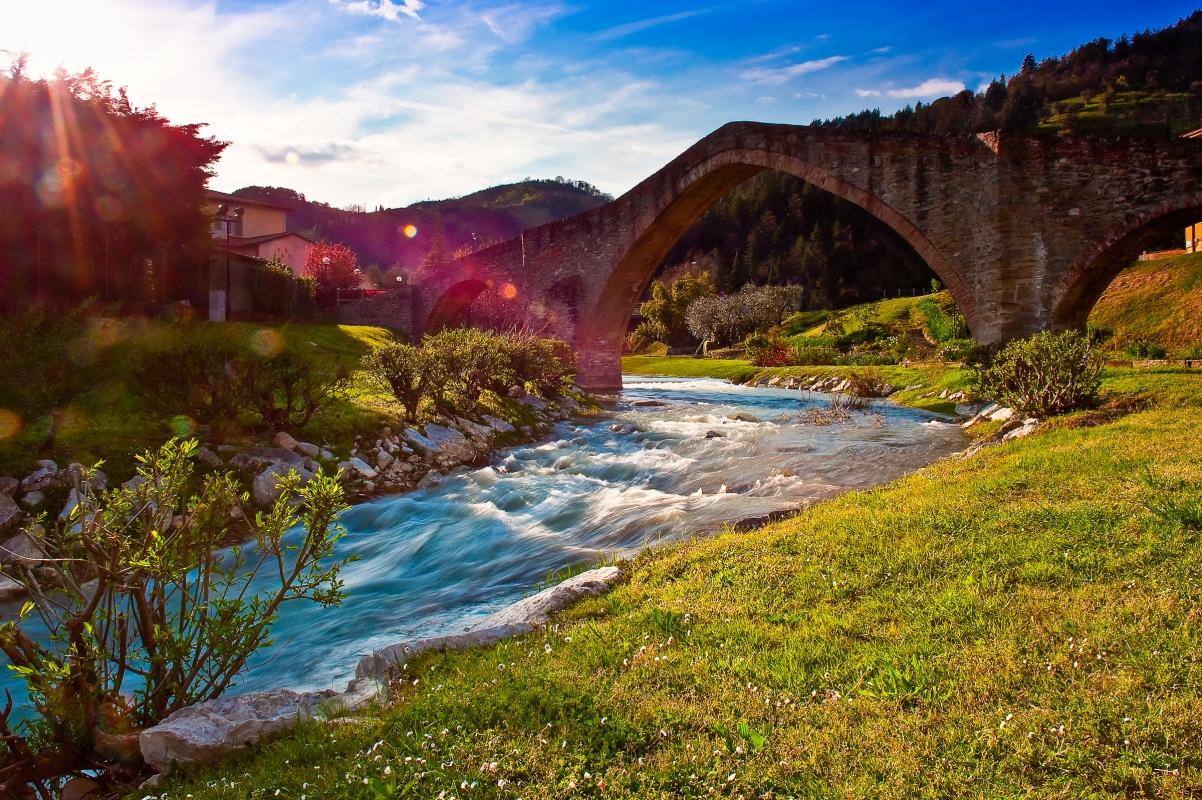 PONTE DI SAN DONATO DETTO DELLA SIGNORA - Savermac - Modigliana (FC)