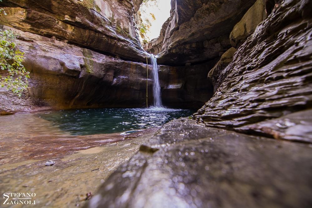 Cascata della Grotta urlante - Stefano Zagnoli - Premilcuore (FC)