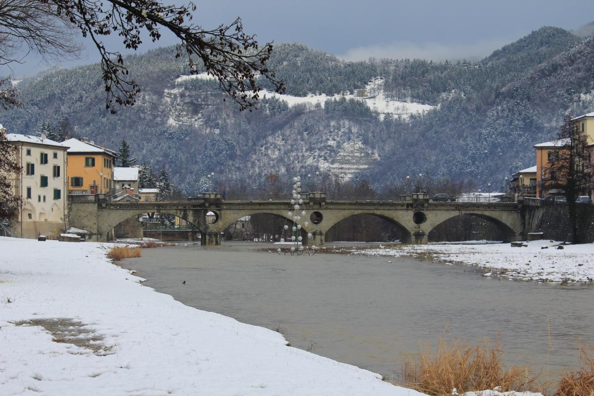 Fiume Bidente e Ponte vecchio - Chiara Dobro - Santa Sofia (FC)