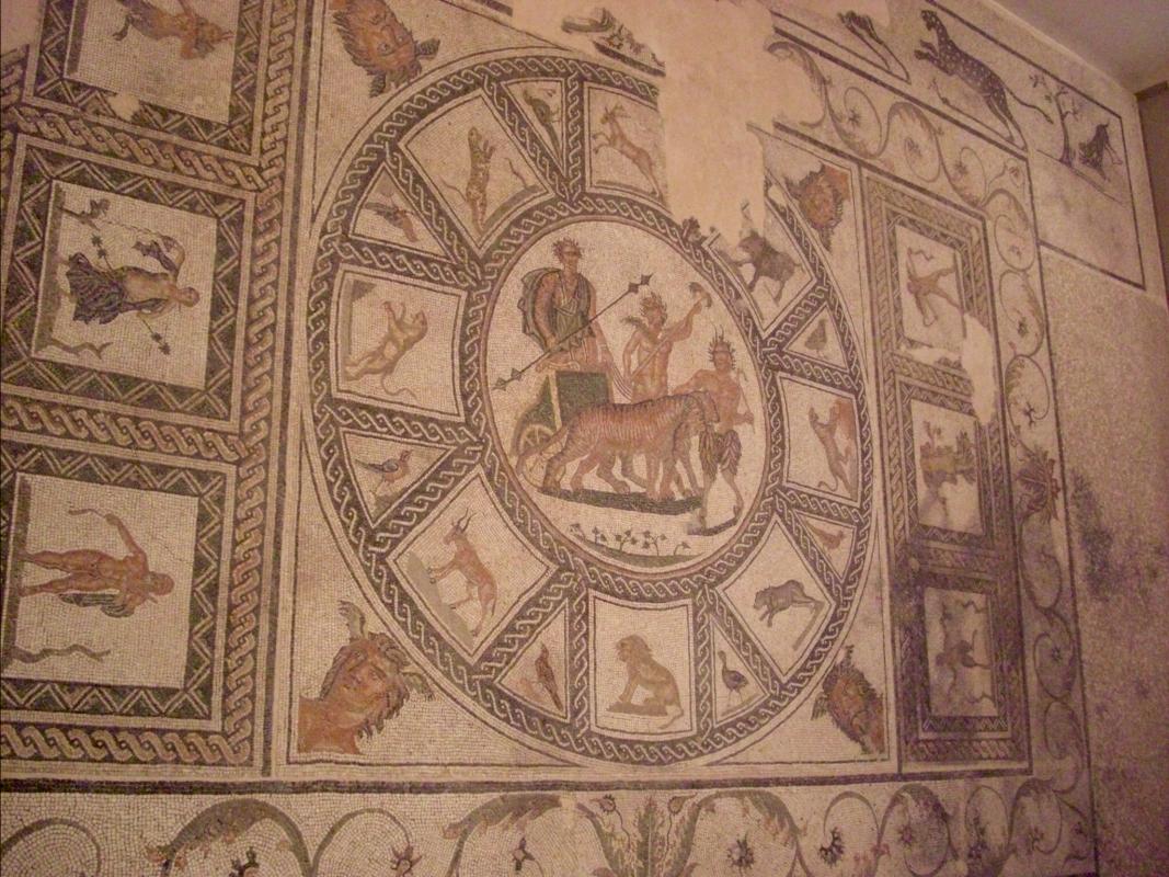 Museo Archeologico Sarsinate Mosaico 1 - Clawsb - Sarsina (FC)