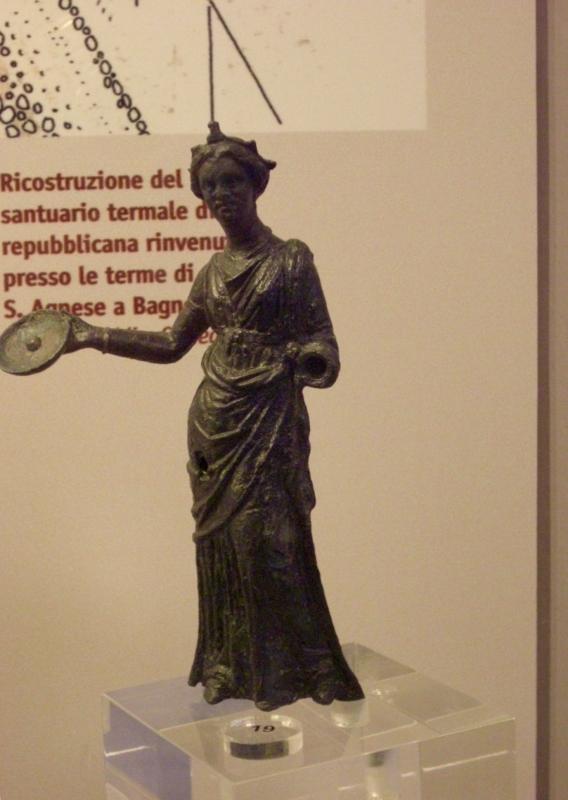 Bronzetto romano ritrovato a Bagno di Romagna(FC) - Clawsb - Sarsina (FC)