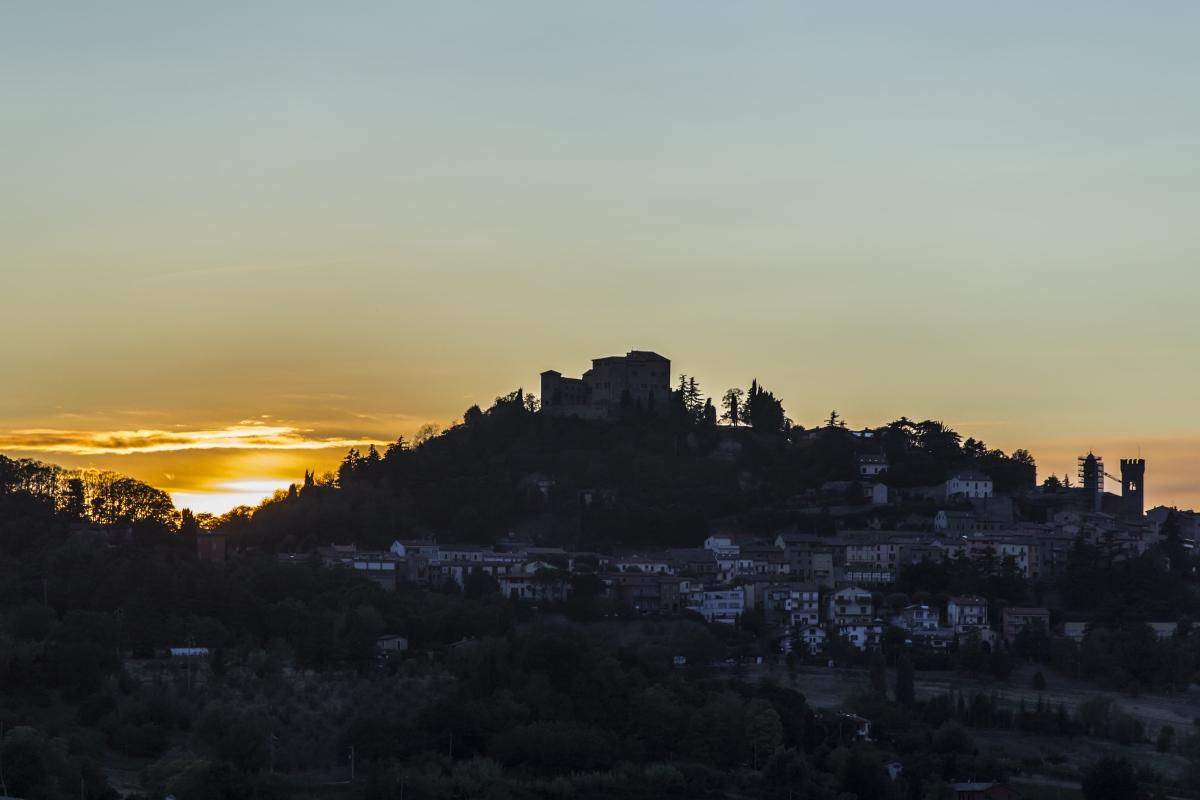 Rocca di bertinoro al tramonto - Boschettim65 - Bertinoro (FC)