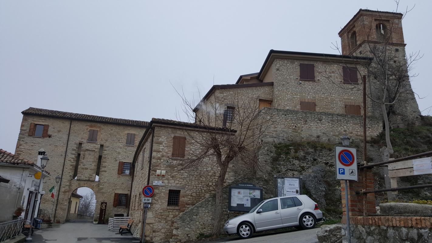 San Giovanni in Galilea 02 - Marco Musmeci - Borghi (FC)