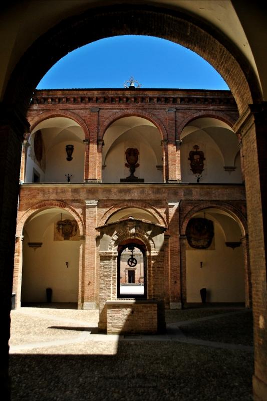 Cortile del Palazzo Pretorio di Terra del Sole - Luca Spinelli Cesena - Castrocaro Terme e Terra del Sole (FC)
