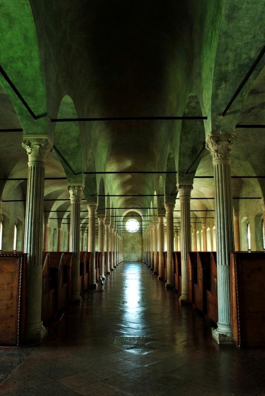 L'Aula del Nuti all'interno della Bibliotaca Malatestiana - Luca Spinelli Cesena - Cesena (FC)