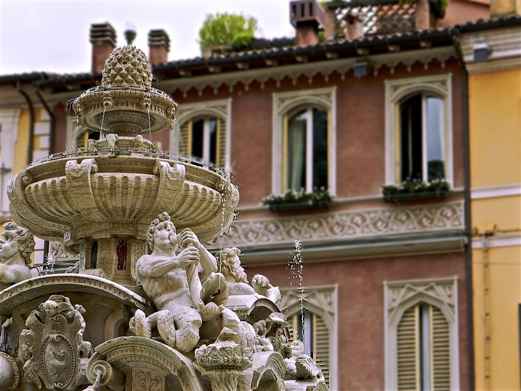 Fontana Masini, il simbolo di Cesena - Caba2011 - Cesena (FC)