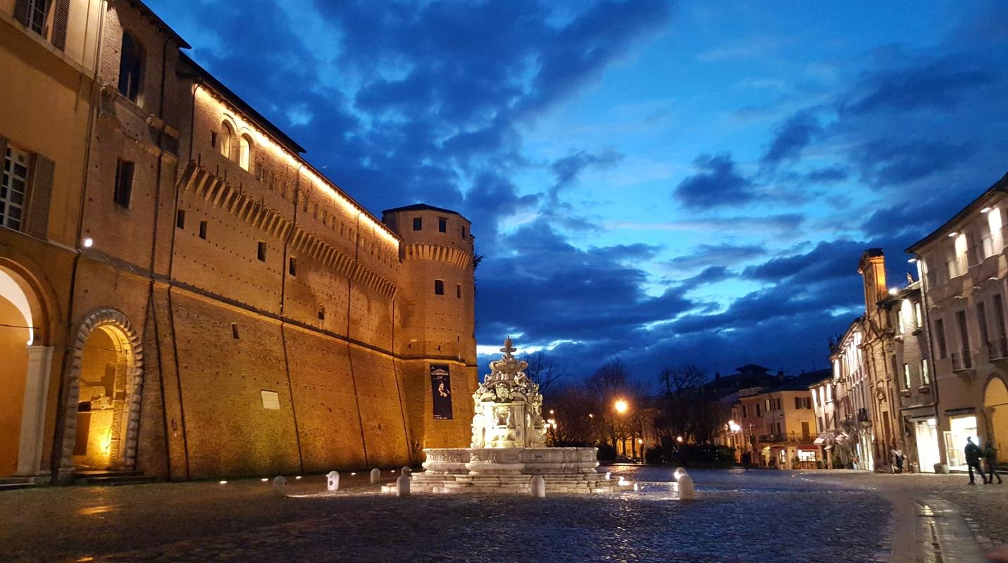 La fontana verso sera - Marco Musmeci - Cesena (FC)