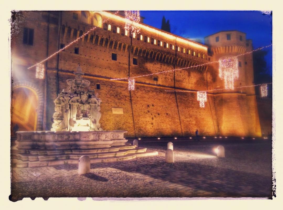 Fontana Masini by night - Jeeg78 - Cesena (FC)
