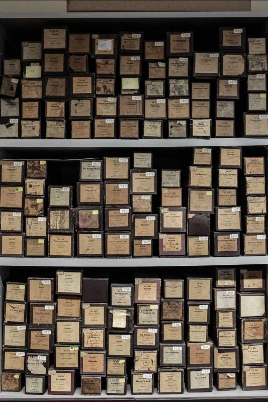 Archivio dischi a rotoli - Boschettim65 - Cesena (FC)