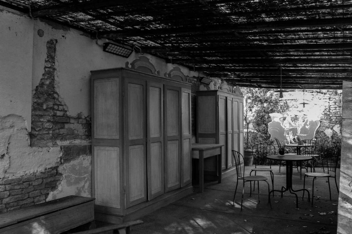 Nel giardino di Villa Silvia-Carducci sala lettura - Boschettim65 - Cesena (FC)