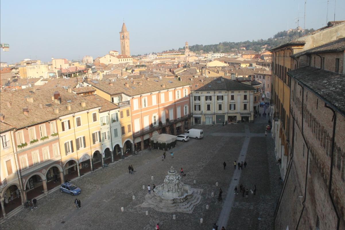 Piazza del popolo Cesena dall'alto - Samuele Gregori - Cesena (FC)
