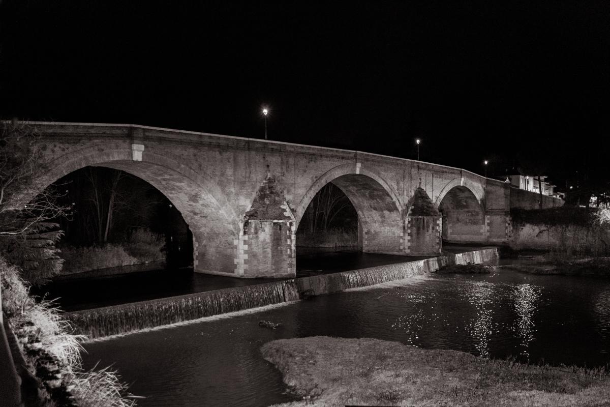 Ponte vecchio di notte - Boschettim65 - Cesena (FC)