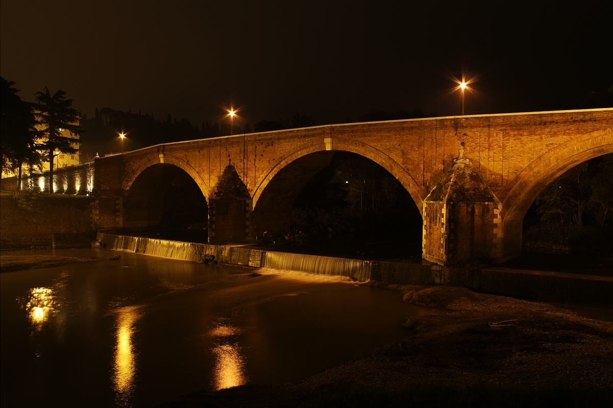 Ponte Vecchio notturno - Silvia Spinelli - Cesena (FC)