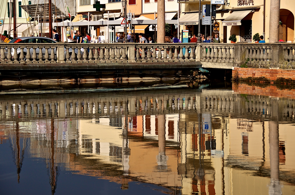 Riflessi al porto Leonardesco - Caba2011 - Cesenatico (FC)