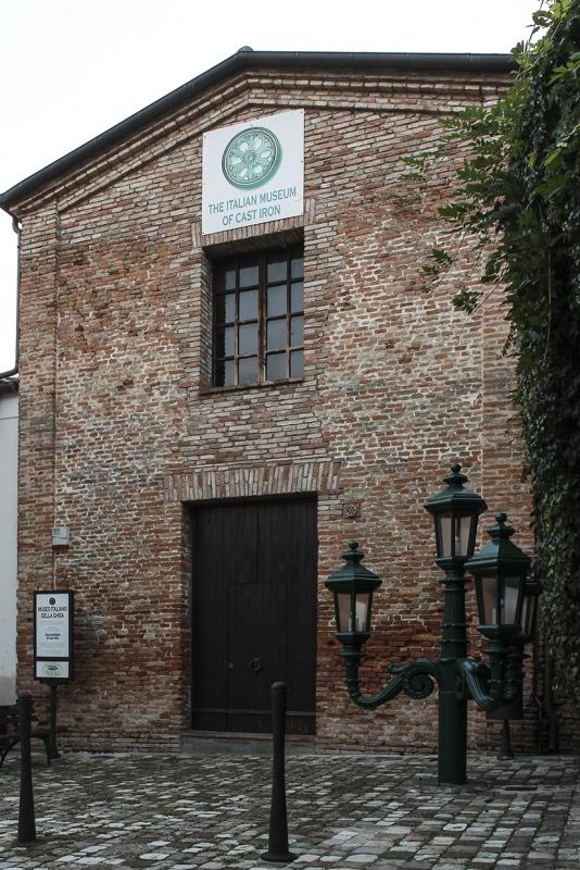 Facciata Museo della Ghisa - Boschetti marco 65 - Longiano (FC)