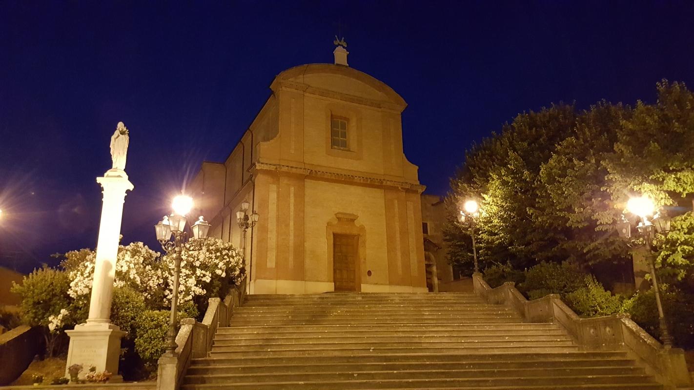 Nei dintorni, il Santuario del Santissimo Crocifisso - Marco Musmeci - Longiano (FC)