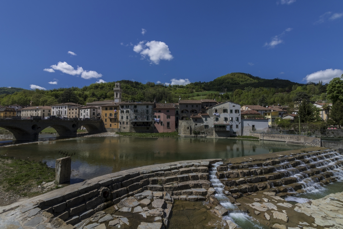 Ponte vecchio e fiume bidente Santa Sofia - AlessandroRamberti - Santa Sofia (FC)