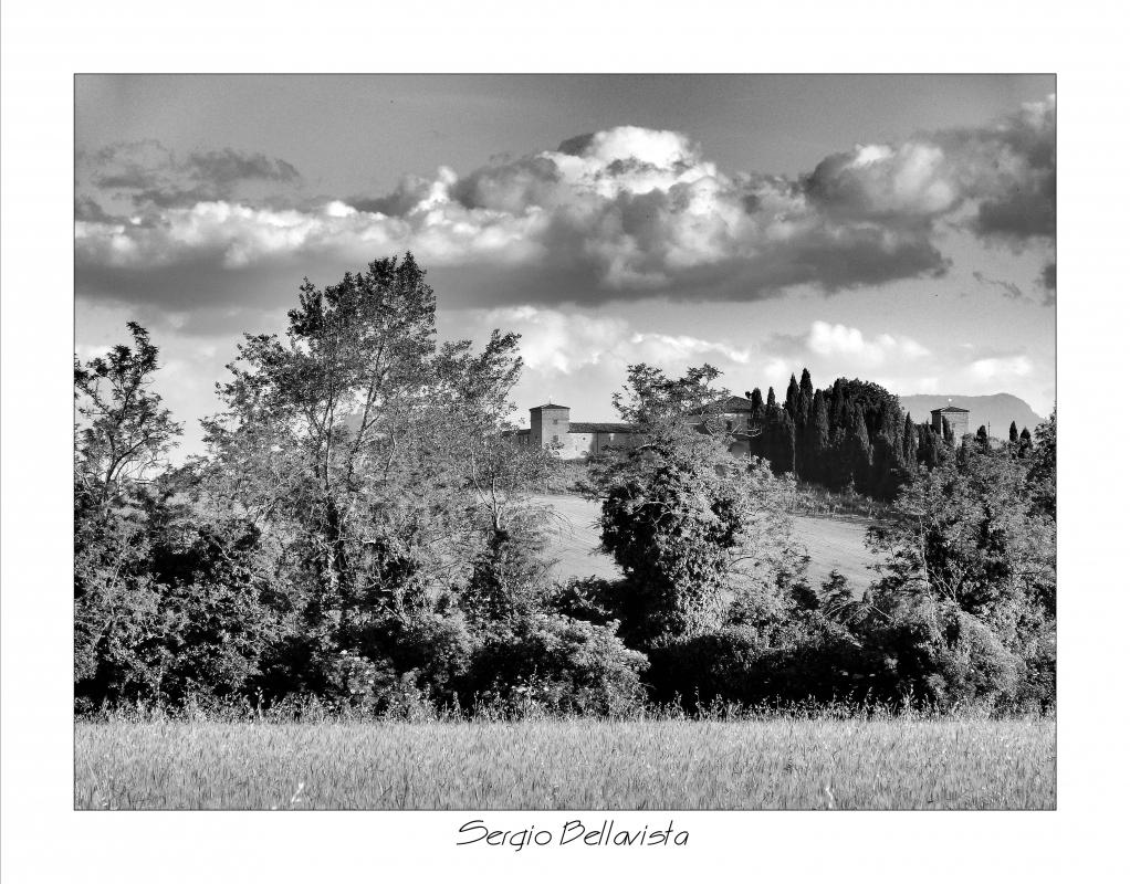 La campagna intorno al Castello di Ribano - Sergio bellavista - Savignano sul Rubicone (FC)
