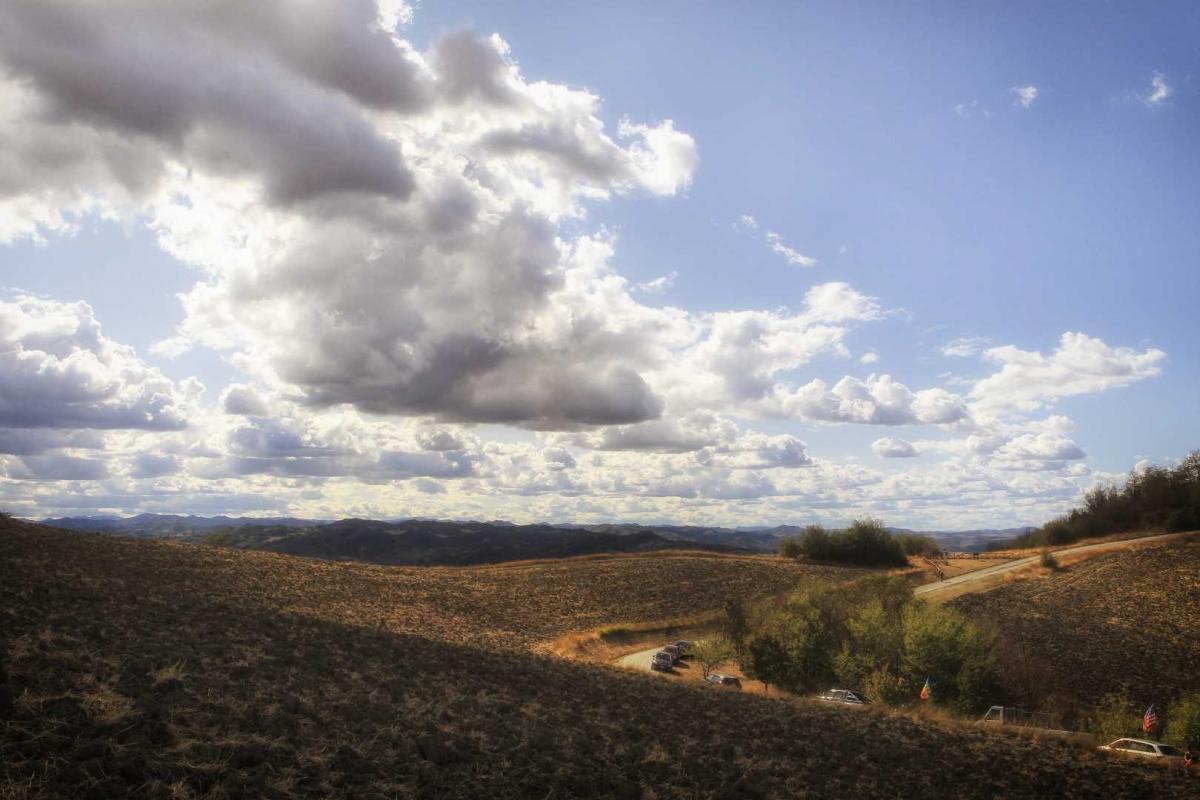 Panorama dalla sorgente Rubicone 2 - Boschetti Marco 65 - Savignano sul Rubicone (FC)