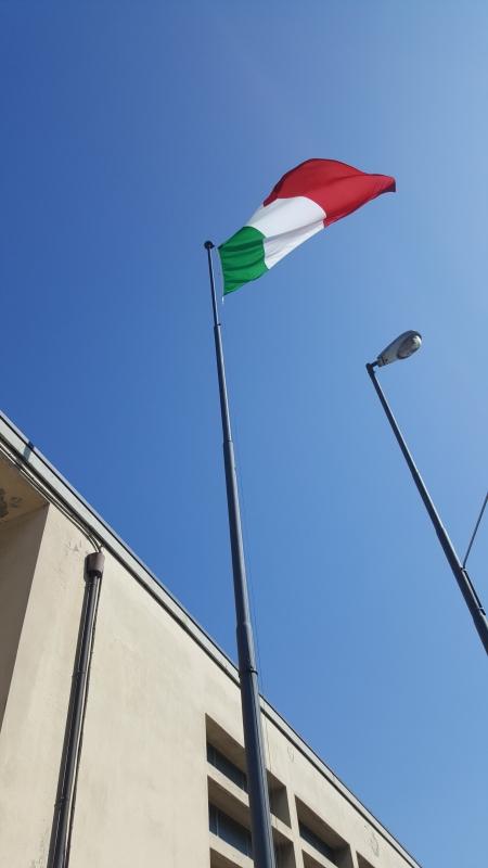 Il Tricolore garrisce di nuovo 17.03.2017 - Marco Musmeci - Savignano sul Rubicone (FC)