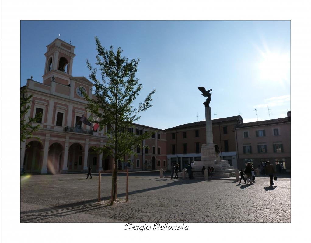 Palazzo Comunale e Monumento ai Caduti - Sergio bellavista - Savignano sul Rubicone (FC)