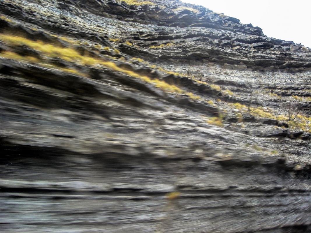 Formazioni marnoso arenacee de 'Le Scalacce' - Albarubescens - Bagno di Romagna (FC)