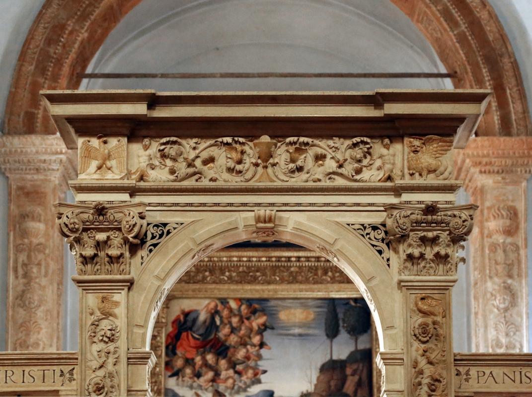 Giacomo bianchi, arco in pietra d'istria, 1536, 01 - Sailko - Forlì (FC)