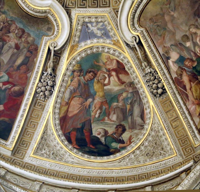 Livio Modigliani, soffitto della cappella di san mercuriale, storie di san girolamo, 1598 ca. 08 - Sailko - Forlì (FC)