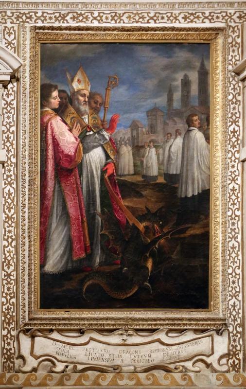 Cigoli, san mercuriale uccide il drago, 1598 ca. 00 - Sailko - Forlì (FC)