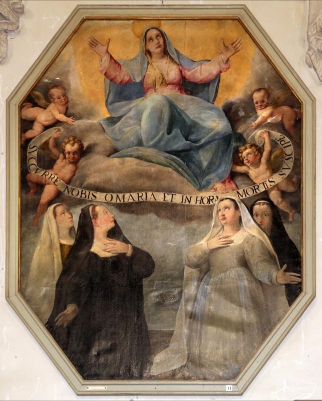 Livio modigliani, madonna in gloria e quattro devote, 1585 circa 01 - Sailko - Forlì (FC)