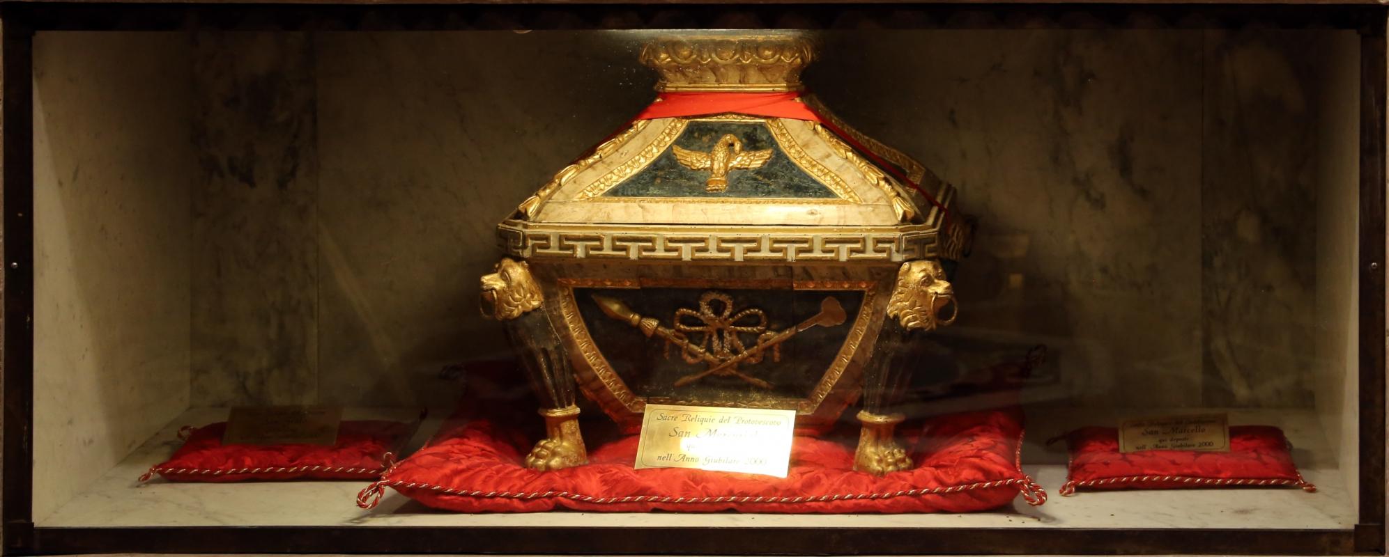 Cappella di san mercuriale, urna di san mercuriale - Sailko - Forlì (FC)