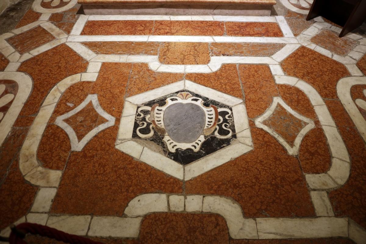 Cappella di san mercuriale, pavimento 01 - Sailko - Forlì (FC)
