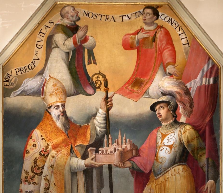 Livio modigliani, i ss. mercuriale, valeriano, stefano e una altro, 1585, 02 - Sailko - Forlì (FC)