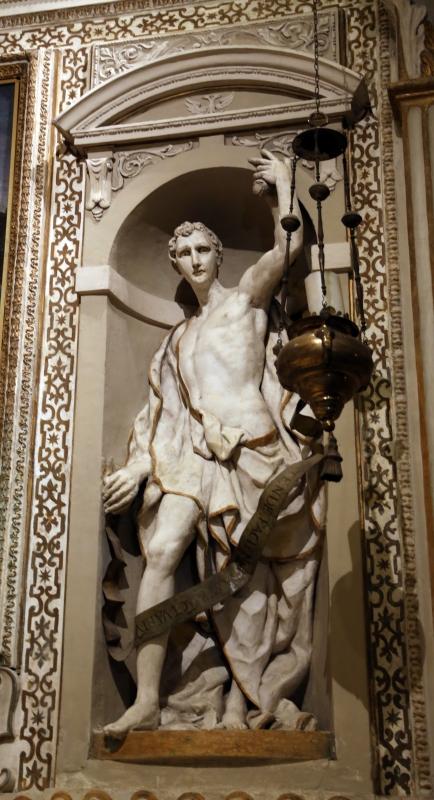Cappella di san mercuriale, statue di profeti in stucco di artisti locali, 1598 ca., 04 mosè - Sailko - Forlì (FC)