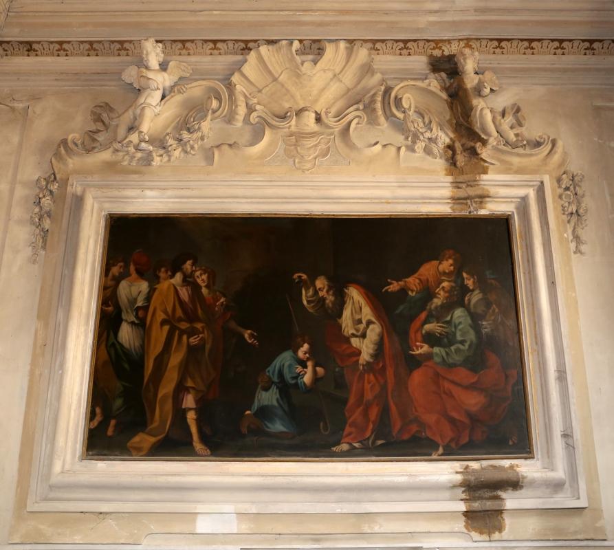Forlì, san mercuriale, interno, cappella del ss. sacramento, figliol podigo - Sailko - Forlì (FC)