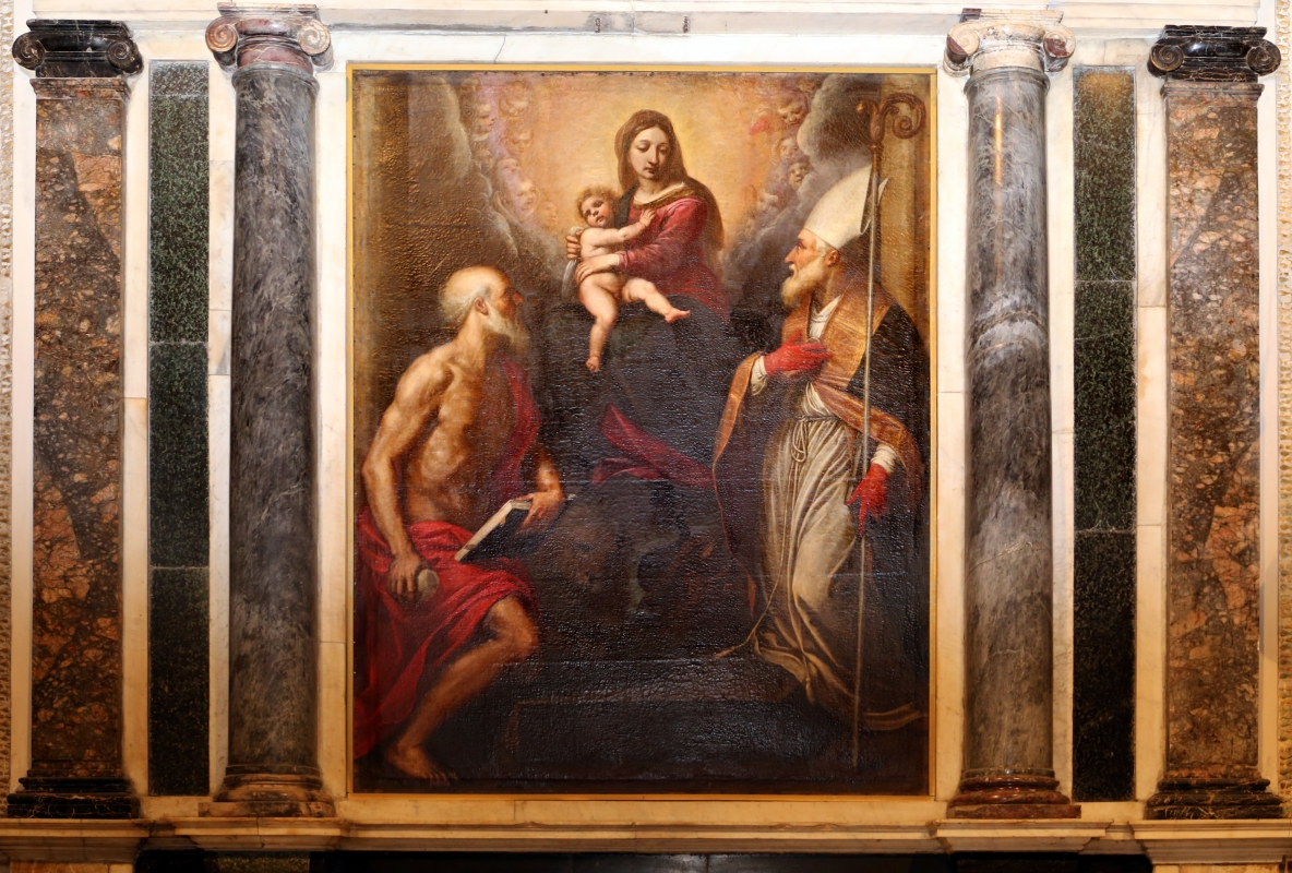 Passignano, madonna tra i ss. mercurialee girolamo1598 ca. 03 - Sailko - Forlì (FC)