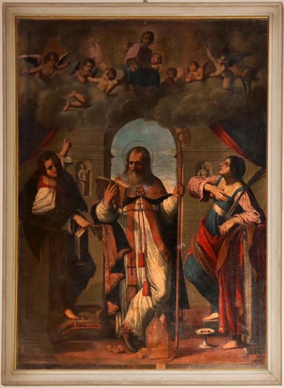 Benedetto Gennari jr, san nicola tra i ss. jacopo e lucia, 1700-10 ca - Sailko - Forlì (FC)