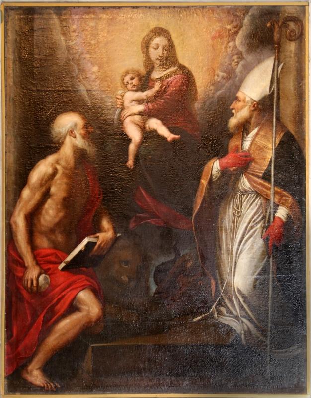Passignano, madonna tra i ss. mercurialee girolamo1598 ca. 04 - Sailko - Forlì (FC)