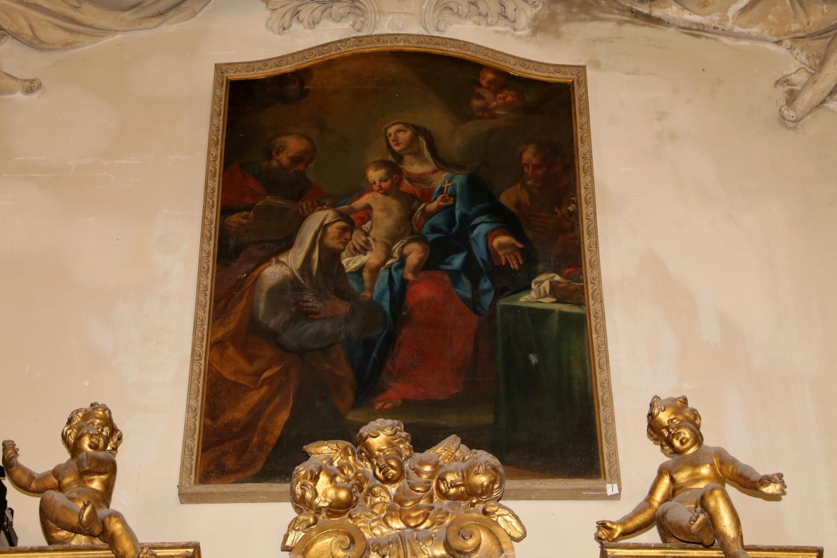 Forlì, san mercuriale, interno, cappella del ss. sacramento, sacra famiglia coi santi gioacchino e anna - Sailko - Forlì (FC)